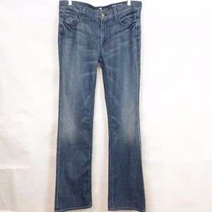 7 for All Mankind High Waist Bootcut Jean 32